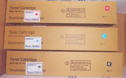 Тонер-картридж XEROX Phaser 7800 / черный,синий,розовый,желтый