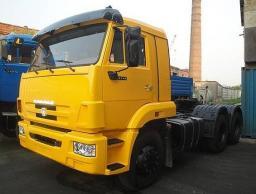 Седельный тягач КамАЗ-65116 (6х4, нагрузка на седло 14 тонн)