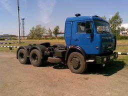 Седельный тягач КамАЗ-54115 (6х4, нагрузка на седло 10 тонн)