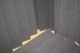 Поролон серый пл.22 г/м.куб толщ. 5 мм