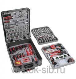 Набор инструментов в чемодане, 187 предметов