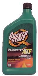 Трансмиссионное масло АКПП QUAKER STATE DEXRON-VI ATF