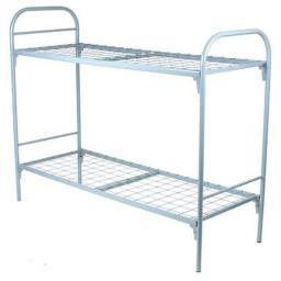 Кровать двухъярусная металлическая К-006