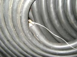 Трубка резиновая 1-1С 6х3 мм (кислотощелочестойкая средней твердости)