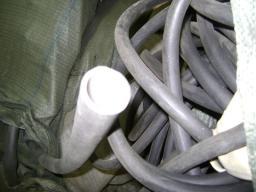 Трубка резиновая 1-1С 22х4 мм (кислотощелочестойкая средней твердости)