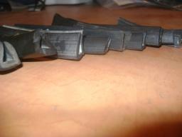 Профиль резиновый П-образный под стекло 8 мм