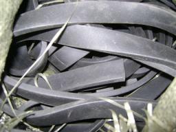 Шнур пористый прямоугольного сечения размер 30х6 мм