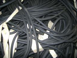 Шнур резиновый 1-1С прямоугольный 14х14 мм