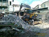 Снос демонтаж зданий сооружений.