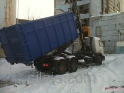 Вывоз мусора ломовоз 30 куб,м.
