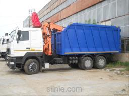 Демонтаж, вывоз мусора ломовозом 28 куб,м
