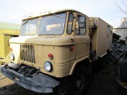 Грузовой автомобиль ГАЗ-66 фургон (дизель)