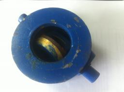 Клапан обратный поворотный 19ч21бр Ду50