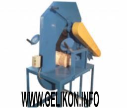 Торцовочный станок для оцилиндрованного бревна вертикальный
