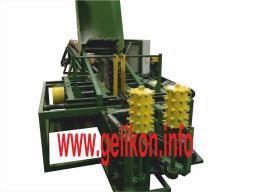 лафетно-брусующий четырёхпильный станок с кантователем и удалением бревна СЛД4п-1000м 45 кВт