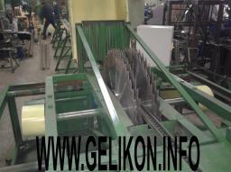 Станок брусующий СЛД-4П-1000(61 кВт)с бесступенчатой подачей бревна 0-10 м/мин четырехпильный пилы сдвигаются и раздвигаются за 5 сек