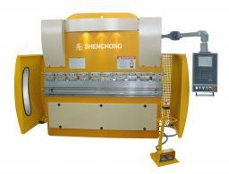 WE67K-63T2500 синхронный гидравлический листогибочный пресс из Китая