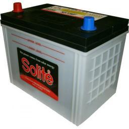 Аккумулятор SOLITE 95 А/ч, п.п. 115D31R с буртиком