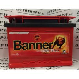 Аккумулятор BANNER UNI Bull 50 200 6CT-58 4-х кл. низ.