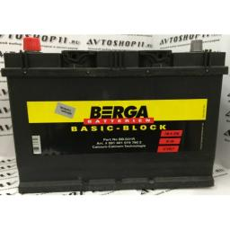 Аккумулятор BERGA 91 Ah EN740 п/п (306х173х225)