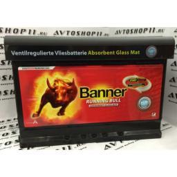 Аккумулятор BANNER Running Bull AGM 6СТ-70 Start-Stop offroad