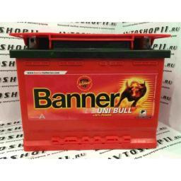 Аккумулятор BANNER UNI Bull 50 300 6CT-69 4-х кл.