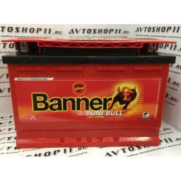 Аккумулятор BANNER UNI Bull 50 500 6CT-80 4-х кл.