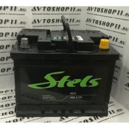 Аккумулятор STELS 6CT-60.0N 60 А/ч о.п.
