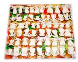 Электрическая инфракрасная сушилка дегидратор Самобранка 50 х 50 см. для сушки овощей, фруктов и грибов