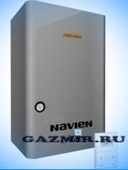 Газовый котел настенный Навьен Navien Deluxe-16k COAXIAL White, 16 кВт, закрытая камера, двухконтурный