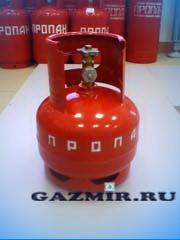 Баллон газовый  5л (вентиль)