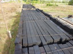 Брусья деревянные для стрелочных переводов