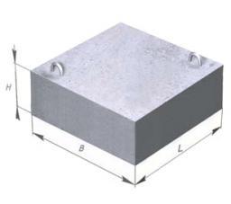 Опорные плиты (подушки)