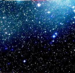 Панно «Звездное небо» 70х70 см