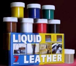 Средство Liquid Leather Жидкая Кожа набор для ремонта кожаных изделий и вещей