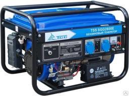 Бензиновый генератор tss sgg 2600 E