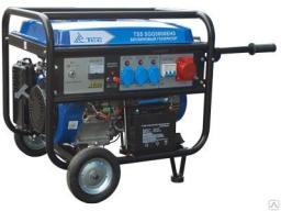 Бензиновый генератор tss sgg 5600EH3 (380В)