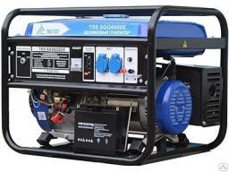 Бензиновый генератор tss sgg 6000EH