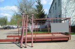 Площадка выносная К-1,3 с металлическим настилом