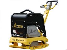 Виброплита бензиновая реверсивная TSS-CPC-240
