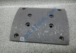 Накладка торм.задняя нов.образца 1-й категории HOWO AZ9231342018
