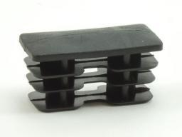 40х20 - заглушка пластиковая для профильной трубы (не силовая)
