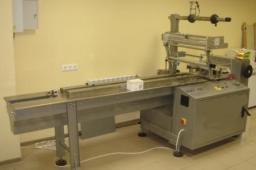 Упаковочный автомат флоу-пак, Горизонтальная упаковочная машина для упаковки хлеба, упаковки хлебо-булочных изделий