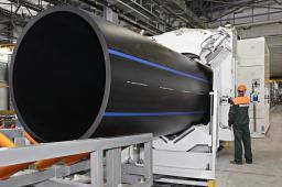 ПЭ-трубы 20-1600 мм отличного качества (трубы ПЭ100, разрешение на газ)