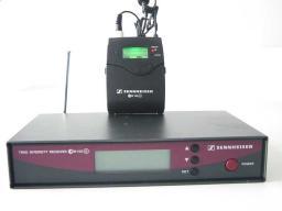 Аренда Sennheiser EW 122 G2 с головной микрофонной гарнитурой либо c петличным микрофоном в Томске