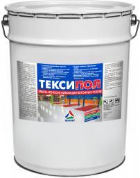 Тексипол — глянцевая износостойкая водостойкая краска для бетонных полов. Тара 20кг.