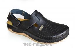 Обувь мужская сабо LEON 701,черные