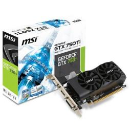 Видеокарта MSI GeForce GTX 750TI.
