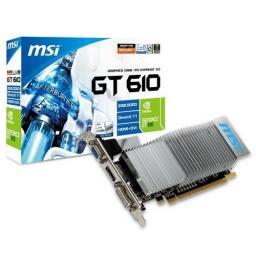 Видеокарта MSI GeForce GT 610