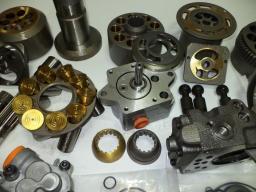 Запасные части для гидравлических насосов и моторов Bosch Rexroth, Kawasaki, Hitachi и др.